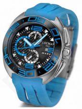 Laikrodis LOCMAN SHARK chronografas 45mm 0138KSBKNSK9GOS