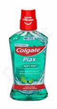 Colgate Plax, Soft Mint, burnos skalavimo skytis moterims ir vyrams, 500ml