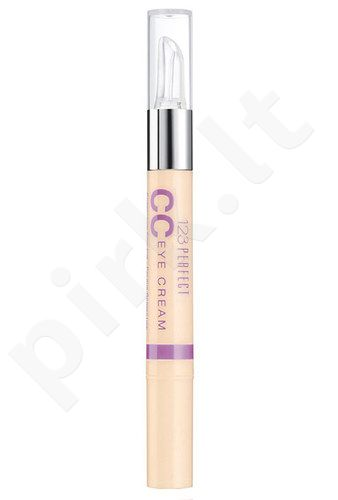 BOURJOIS Paris 123 Perfect CC Illuminating Eye Care, kosmetika moterims, 1,5ml, (21 Ivory)