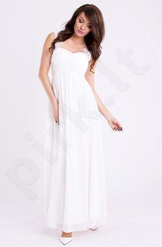 EVA&LOLA suknelė - balta 9711-5