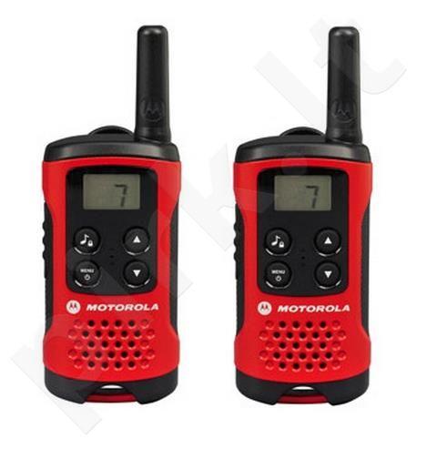 Motorola T40 portatyvios radio stotelės, 4km, 8 kanalai