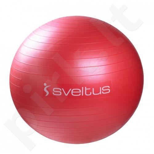 Gimnastikos kamuolys GYMBALL 65cm red+pakuotė