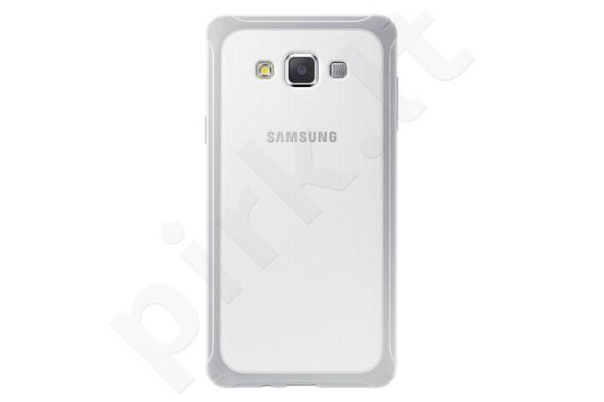 Samsung  Galaxy A7 apsauginis dėklas šviesiai pilkas