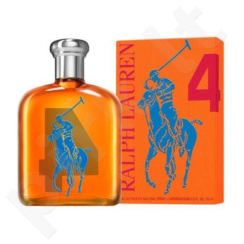 Ralph Lauren Big Pony 4, tualetinis vanduo (EDT) vyrams, 125 ml (Testeris)