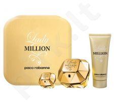 Paco Rabanne (EDP 50 ml + 100 ml kūno losjonas + 5 ml EDP) Lady Million, rinkinys moterims