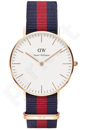 Laikrodis DANIEL WELLINGTON OXFORD ROSE GOLD