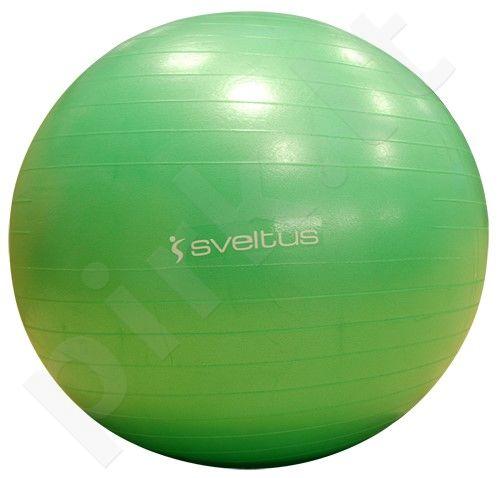 Gimnastikos kamuolys GYMBALL 65cm green+pakuotė