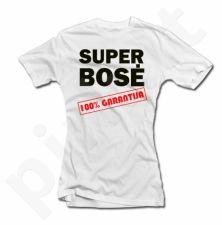 """Moteriški marškinėliai """"Super bosė"""""""