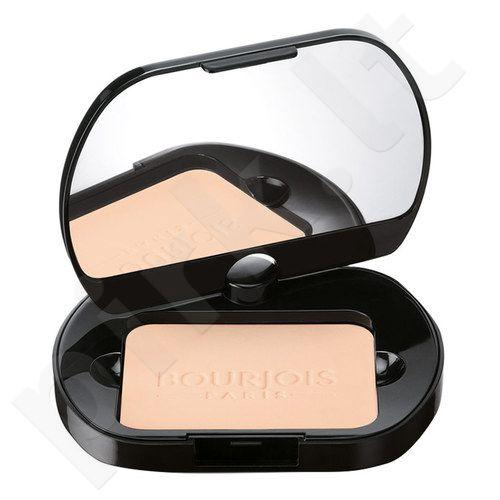 BOURJOIS Paris Silk Edition kompaktinė pudra, kosmetika moterims, 9,5g, (53 Golden Beige)