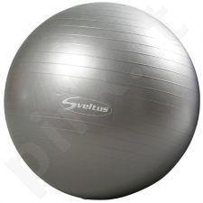 Gimnastikos kamuolys GYMBALL 65cm grey+pakuotė