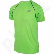 Marškinėliai treniruotėms 4f M T4Z16-TSMF001 žalio atspalvio