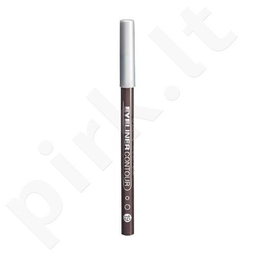 Gabriella Salvete Eyeliner Contour, akių kontūrų pieštukas moterims, 0,28g, (19 Dark Brown)