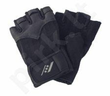 Pirštinės fitnesui 201 M-L black