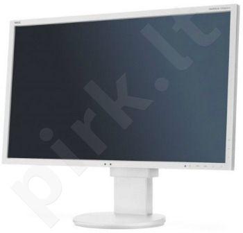 NEC Monitor MultiSync LED EA223WM 22'' wide, DVI, DispayPort, USB, HAS, white