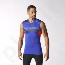 Marškinėliai Adidas be rankovių techfit cool M S20813