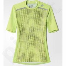 Marškinėliai kompresiniai Adidas Techfit Chill Graphic M AJ4937