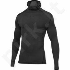 Marškinėliai kompresiniai Under Armour ColdGear® Armour Hoodie M 1280806-090