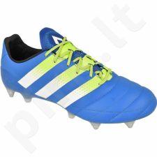 Futbolo bateliai Adidas  ACE 16.1 SG M Leather S32066