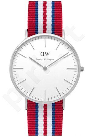 Laikrodis DANIEL WELLINGTON EXETER SILVER 40 MM