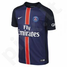 Marškinėliai futbolui Nike Paris Saint-Germain F.C. PSG Junior 659096-411