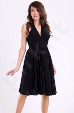 EVA&LOLA suknelė - juoda 11007-1