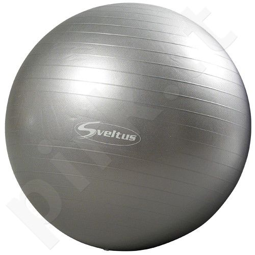 Gimnastikos kamuolys TOP QUALITY 65cm grey