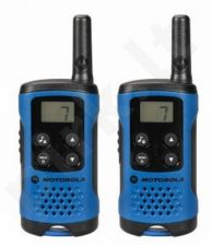 Motorola T41 short-wave radio, 4km, black-blue