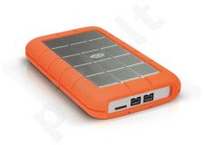 Išorinis diskas LaCie Rugged Triple 2.5'' 500GB USB3, FW800, 7200RPM