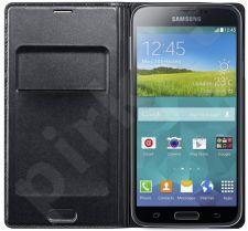 Samsung Galaxy S5 atverčiamas dėklas juodas