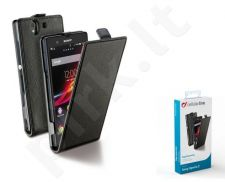 Sony Xperia Z dėklas FLAP ESSEN Cellular juodas