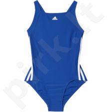 Maudymosi kostiumėlis Adidas Infinitex Essence Core 3-Stripes Junior BP5447