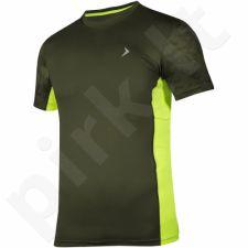 Marškinėliai treniruotėms Outhorn M HOL17-TSMF620 žalio atspalvio