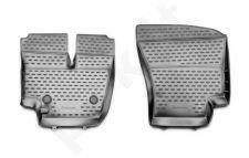 Guminiai kilimėliai 3D FORD Cargo 1830 (2530), 2 pcs. /L19036G /gray