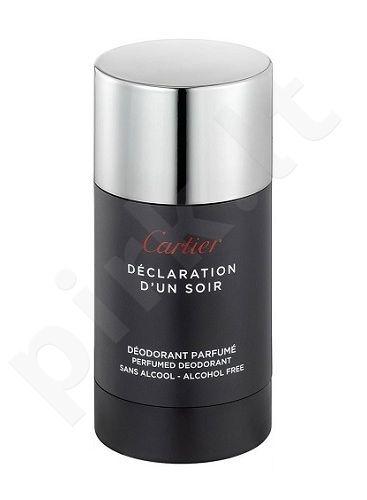Cartier Declaration d´Un Soir, 75ml, pieštukinis dezodorantas vyrams