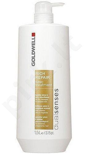 Goldwell Dualsenses Rich Repair 60 Sec Treatment, 1500ml, kosmetika moterims