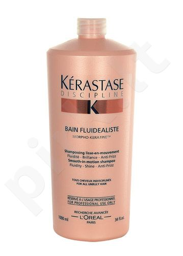 Kerastase Discipline Bain Fluidealiste šampūnas, kosmetika moterims, 1000ml