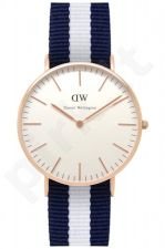 Laikrodis DANIEL WELLINGTON GLASGOW ROSE GOLD 36 MM
