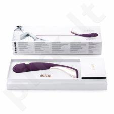 Prabangus masažuoklis LELO Smart Wand - Medium (tamsiai violetinis)