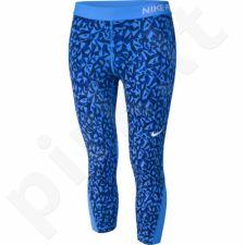 Sportinės kelnės Nike Pro Cool Capri Facet 3/4 W 822978-435