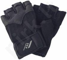 Pirštinės fitnesui 201 XL-XXL black