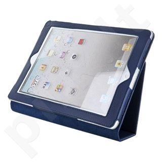 4World dėklas-stovas skirtas iPad 2, du parametrai, mėlynas
