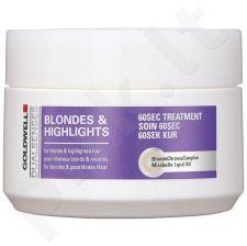 Goldwell Dualsenses Blondes Highlights 60 Sec Treatment, 200ml, kosmetika moterims