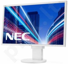 Monitorius NEC MultiSync EA273WMi 27'', LED,FHD, IPS TFT, DVI,HDMI,USB,DP, Balt.