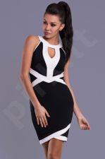 Emamoda suknelė - juoda 7808-1