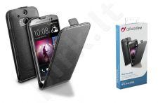 HTC One 2 M8 dėklas FLAP ESSEN Cellular juodas