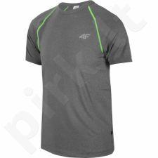 Marškinėliai treniruotėms 4f M T4Z16-TSMF001 pilkas