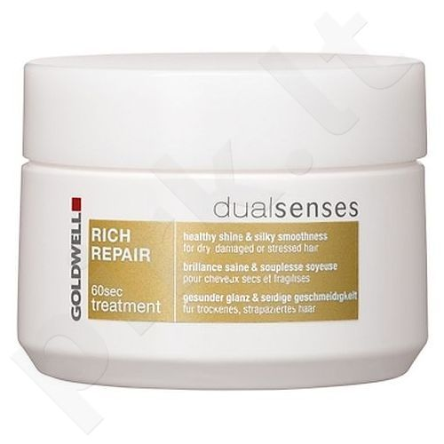 Goldwell Dualsenses Rich Repair 60 Sec Treatment, 200ml, kosmetika moterims