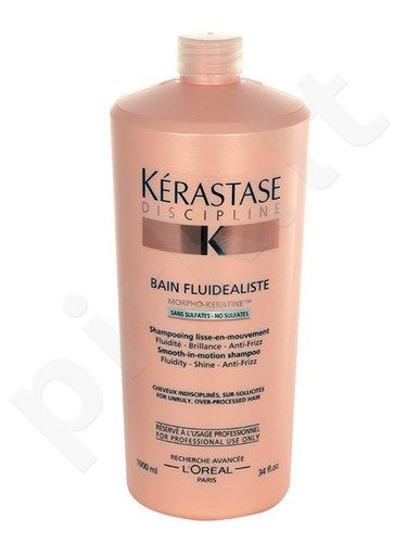 Kerastase Discipline Bain Fluidealiste No Sulfates šampūnas, kosmetika moterims, 1000ml