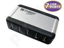 USB šakotuvas Sandberg AluGear, 7 jungtis