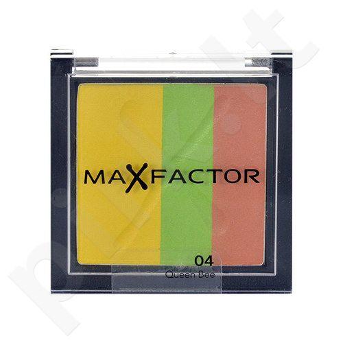Max Factor Max Effect Trio akių šešėliai, kosmetika moterims, 2g, (04 Queen Bee)